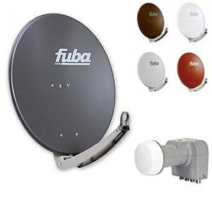 Angebote für -fuba digital hdtv sat anlage 4 teilnehmer fuba daa 780 premium aluminium sat antenne in wunschfarbe dek 416 quad lnb