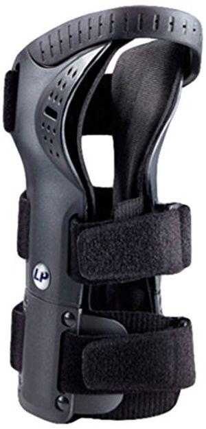 LP Support 550 - Muñequera con férula para el túnel carpiano (talla M, mano izquierda), color negro Mejor compra