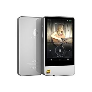 hidizs ap200 hi res lossless digital music player with touch screen android os and 32gb storage silver