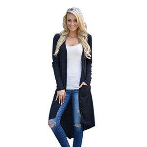 damen strickjacken bestop damen beiläufig lose pullover langarm strickjacke outwear jacke mantel