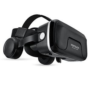 Angebote für -hamswan g04ea 3d vr briller virtual reality gläser mit eingebautem headset 120 grad fov und multifunktionsknopf kompatibel mit iphone samsung und anderen 40 60 smartphones