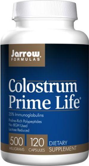 Comprar Jarrow Colostrum Prime Life (500mg, 120 Capsules) Con Descuento