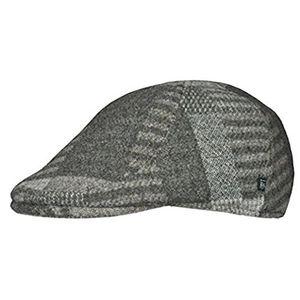 schirmmütze herren patchwork wintermütze mit ohrenklappen 55 cm