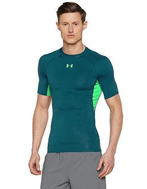 Angebote für -under armour herren funktionsshirt heatgear kurzarmhemd tourmaline teal lg