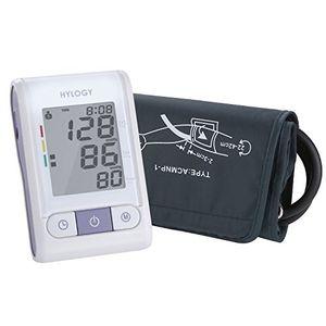 ofertas para - hylogy tensiómetro de estilo de brazo esfigmomanómetro digital con puño automático de brazo y pantalla grande 2 120 memorias