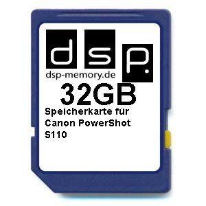 photos of DSP Memory Z 4051557428164 32GB Ultra High Speed Speicherkarte Für Canon PowerShot S110 Digital Kamera Cyber Montag Kaufen   model Computer & Zubehör