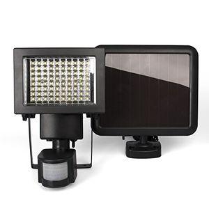 photos of Plaights Solarleuchte/fluter Mit Bewegungsmelder/sensor | 80 Leistungsstarke LEDs | IP44 | Erfassungswinkel 180 Grad | Ideal Für Garten, Garage, Carport & Veranda Hot Angebot Kaufen   model Home