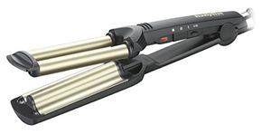 Review for BaByliss C260E - Plancha de pelo para ondas profesionales, revestimiento de cerámica y titanio, hasta 200º C día Ventajas Desventajas Padres