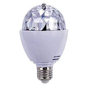 Cheap e27 3w partylicht dj led rgb licheffekt rotierende farblicht birnen lampen für weihnachtsparty disco musik led beleuchtung weiß