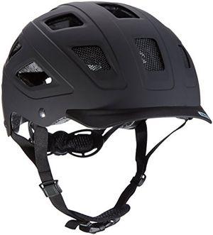 deals for - abus erwachsene fahrradhelm hyban velvet black 52 58 cm 37264 3