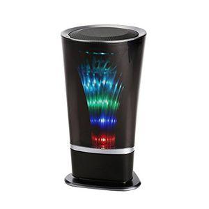 funk lautsprecher vman bewegliche led bluetooth lautsprecher stereo cube mit 4 stunden spielzeit 33 fuß bluetooth reichweite für laptops iphone ipad samsung nexus htc und mehr blau