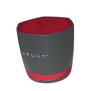 ryght r482310 n exago bluetooth kompaktlautsprecher grau rot