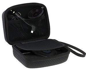 Buy navitech auto dash camkamera tragetaschetasche für die qwoo case passt auch mit windschutzscheibenhalterung kfz ladegerät