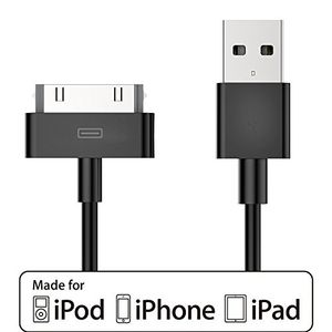 Review for apple mfi certified acepower 4 feet 12m 30 pin usb sync and charging cable for iphone 44s iphone 3g3gs ipad 123 ipod black