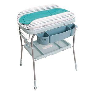 Chicco Cuddle & Bubble - Bañera cambiador compacta 2 en 1, 10 kg, color azul día Ventajas Desventajas Padres