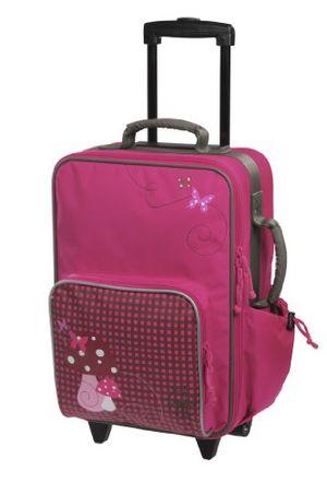 deals for - lässig stabiler kinder reisekofferkindertrolley mit separatem schuh wäschebeutel