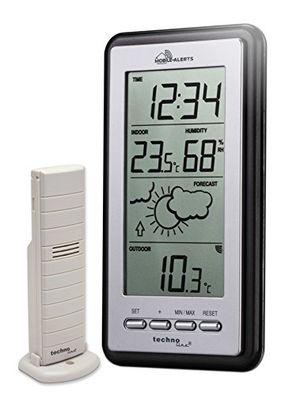 photos of Technoline Smart Home Wetterstatation, Mobile Alerts, Silber/grau, 8.2x2.3x15 Cm, MA10430 Heute Deals Kaufen   model Lawn & Patio
