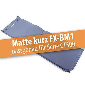 fuxtec bollerwagenmatte fx bm1 aufblasbar mit rückenpolsterung