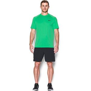 under armour ua tech ss tee herren fitness t shirts tanks grã¼n vapor green xl