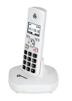 ofertas para - geemarc clearsound mydect100 teléfono digital inalámbrico con teclas grandes y amplificador color blanco importado de francia