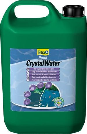 deals for - tetra pond crystalwater für kristallklares wasser im gartenteich wasserklärer gegen trübungen 3 liter flasche