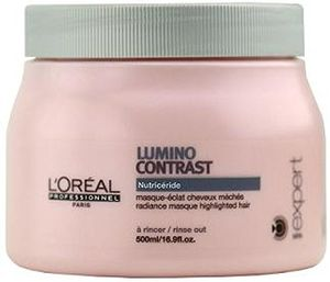 ofertas para - loréal professionnel expert lumino contrast nutricéride mascarilla de brillo para cabello con mechas 500 ml