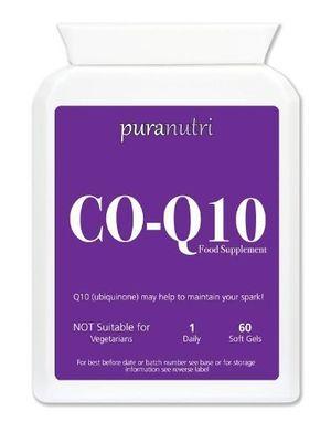 ofertas para - puranutri co enzima q10 coq10 300 mg 60 geles suaves para la hipertensión o presión arterial alta
