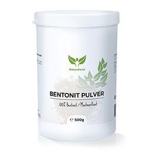 deals for - naturaforte bentonit montmorillonit 500g extra fein in premiumqualität