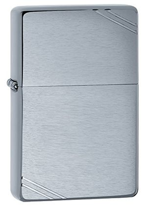 ofertas para - zippo vintage mechero color brushed chrome