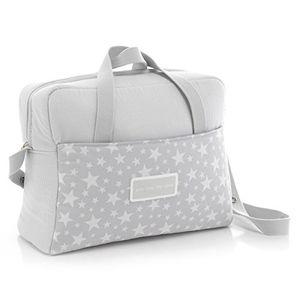 Cambrass Star - Bolso maternal tipo maleta, 32 x 39 x 17 cm color gris comparación