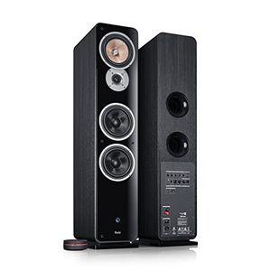 Review for teufel ultima 40 aktiv schwarz stand lautsprecher sound bassreflex 3 wege flac hifi hochtöner lautsprecher high end hifi speaker standlautsprecher