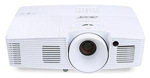 acer x115h dlp projektor svga 800 x 600 pixel 3300 ansi lumen kontrast 200001 3d