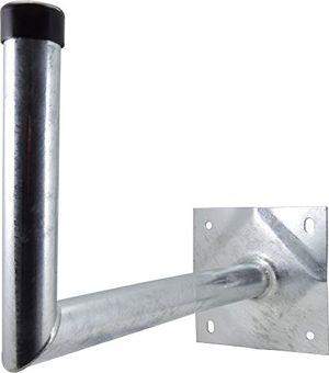 satix sat wandhalter stahl 40 cm wandabstand für satelliten schüssel feuerverzinkt