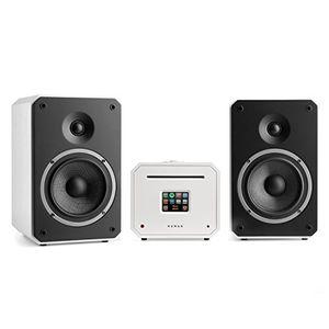 Top numan unison octavox 702 mkii edition • stereoanlage • verstärker • lautsprecher • 2 x 40 w • zwei wege system • spotify connect • wlan • ukw • dab • tft display • vergoldete kontakte • weiß