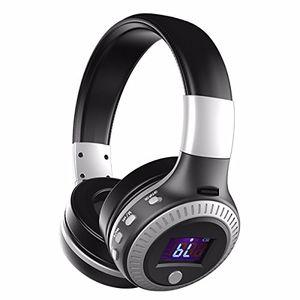 Hot wireless kopfhörer eivotor bt 41 faltbare wireless stereo headset wiederaufladbare drahtlose funkkopfhörer mit hifi stereo klangqualität freisprechfunktion 4 modi mic fm radio tf sd karte slot mit csr rauschunterdrückungstechnik multifunktionen on ear ohrhörer mit led digital display unterstützt tf karte fm radio sport headphone für iphone ipad android smartphone pc laptop tablet