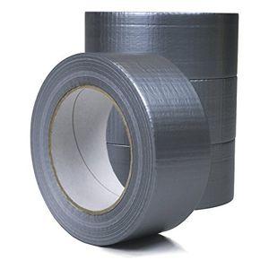 Cheap 2 rollen 48 mm x 50 m gewebeband auch panzertape genannt in grau aus synthetik kleber