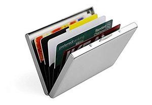 Angebote für -doutop kreditkartenetui edelstahl ec kartenetui rfid schutzhülle bankkarten ziehharmonika stil ec kartenetui gebürstete matte oberfläche ausweishülle fahrausweisetui scheckbuchetui