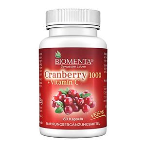 deals for - biomenta cranberry 1000 vitamin c aktionspreis cranberry hochdosiert vegan 60 cranberry kapseln