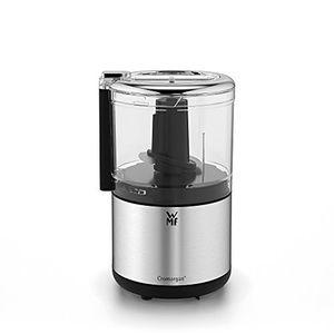 Top wmf küchenminis zerkleinerer cromargan matt platzsparender multizerkleinerer mit einhandbedienung abnehmbarer behälter 03l 65 w