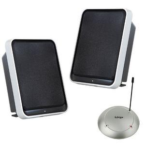 Angebote für -stereo funk lautsprecher set mit bassboost 2x35w sinus100w pmpo100m reichweite für wohnzimmer terrasse
