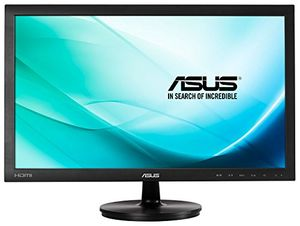 deals for - asus vs247hr 599 cm 236 zoll monitor full hd vga dvi hdmi 2ms reaktionszeit schwarz