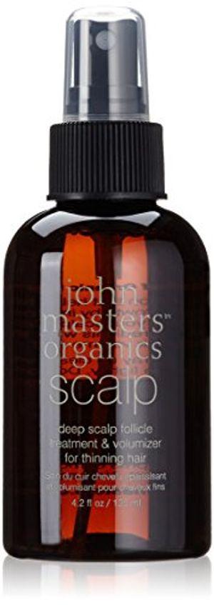 ofertas para - tratamiento john masters organics profunda del cuero cabelludo folículo y voluminizador para el adelgazamiento del cabello suero de cabello para cabello fino 125ml