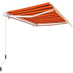 deals for - aluminium markise orange schwarz sonnenschutz kassettenmarkise gelenkarmmarkise sonnensegel