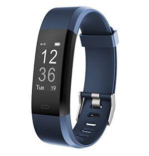 fitness tracker muzili yg3 plus sport fitness armband laufen wristband fitness band schrittzähler mit herzfrequenz monitor schrittzähler schlafmonitor tracker für iphone und android phone blau