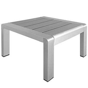 Angebote für -aluminium beistelltisch auch als hocker nutzbar bis 90 kg für rattan liege gartenliege sonnenliege rattanliege lounge material aluminium