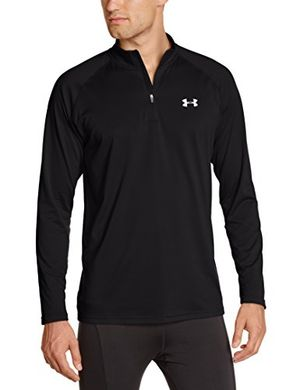 under armour herren fitness sweatshirt ua tech 14 zip schwarz black xxl 1242220 003