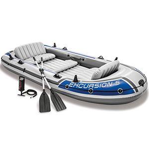 deals for - intex schlauchboot mit 5 plätzen inkl aluminiumruder und pumpe