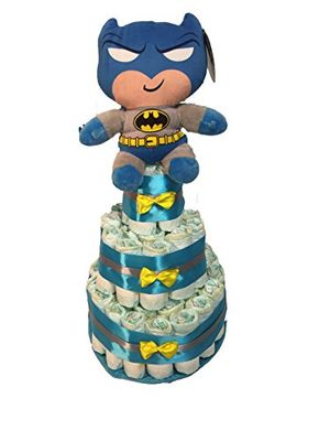Tarta de pañales DODOT Batman antes de compra