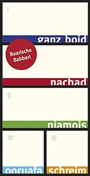 Angebote für -boarische babberl