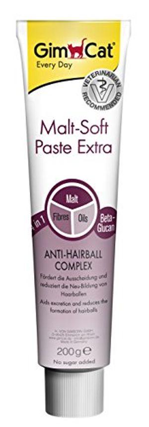 deals for - gimcat malt soft paste extra ballaststoffreicher katzensnack mit anti hairball effekt